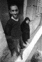 Мужчина и женщина / Грузия. Тбилиси. 1982 год. Скан с негатива.
