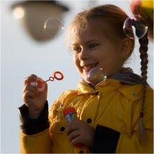 Солнышко / непостановочное... спонтанный портрет незнакомой девчушки...