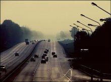 morning traffic /