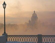 Парапет / Зима. Утро. Петербург...