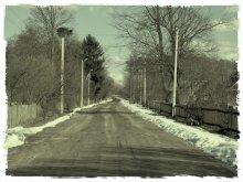 Деревенская дорога / ---------------