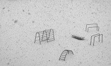 Снежная зарисовка / вдогонку уходящему лету :)