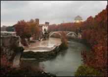 Вечный город.... / Краски осени в Риме....