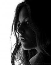 Черно белый портрет / Фото кделано в студии 37-й Кадр