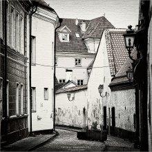 [ ... I like Vilnius ] / ...так хочется нарисовать с фотографии, но пока вот так попсовенько обработал, а возможно и убил картинку ;)