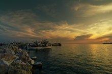 направление - запад / Thassos island, Greece