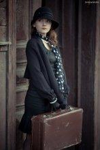 ожидание / макия - Оля Катасонова, модель - Настя Карслиева