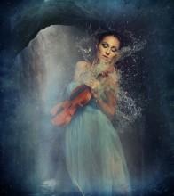 Королева грота / модель Тарасова Анна аква-студия