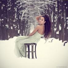 [Холодно} / модель: Саша Иванова