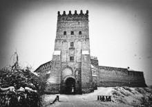 верхний замок. зима / Луцк. Замок Любарта