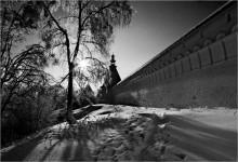 лед и стужа / Саввино-сторожевский монастырь  19.01.2011г. (крещенские морозы)