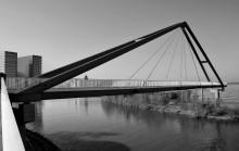 Media bridge / Мост в Медиа порту. Дюссельдорф.  Еще здесь: http://photoclub.by/work.php?id_photo=239643#t