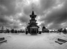 храм Архангела Михаила / московская область  кубинский район  снято 7.03.2011 погода не баловала