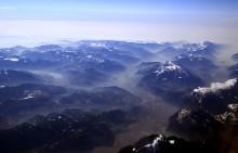 Альпы / Снимал с борта самолета