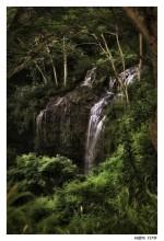 Kalihiwai Falls / Kalihiwai Falls, Kawai, Hawaii