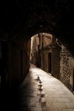 Улочки старого города / Февраль. Готический квартал Барселоны