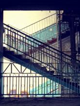 deserted / заброшенная лестница