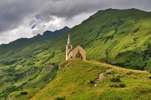la chiesa di Riale / Riale, Val Formazza