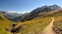 Alpi / Border between Italy and Switzerland