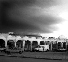 Calmness before the storm - спокойствие перед бурей / Africa, Tunisia, gorad Kairouan