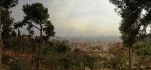 Барселона / Вид на Барселону из парка Гуэль