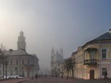 Утро / на улице Суворова в Витебске