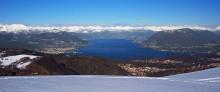 Le Alpi e il lago Maggiore / Альпы и озера Мaggiore, Италия