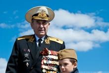 Ветеран. / Ветеран в парке Победы.