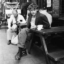 Andrew Stanney / фотограф, случайно встреченный мною на broadway market