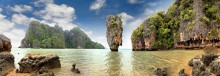 остров Д. Бонда, Тайланд / Панорама, 7 кадров