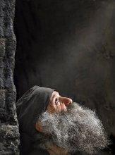Отец Наоми. / Портрет монаха из монастыря Алаверди. Грузия. Кахетия.