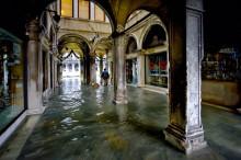 Венеция. Площадь Сан Марко. / Наводнение 2008 г.