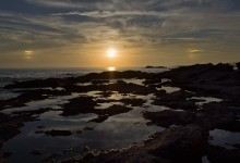 Гало на закате. / Эгейское море. Мамия. цифробэек Лиф.