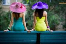 Яркое лето / Модели : Татьяна Скаковская и Екатерина Дмитракова Больше фотографий из этой серии здесь http://www.yuribrut.com/