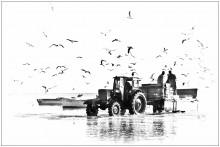 После рыбалки... / Рижский залив, Курземское побережье, Латвия