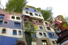 Деталь из улиц современного искусства в Вене / Деталь из улиц современного искусства в Вене