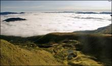 Облачное море у подножия Свидовецкого хребта / Карпаты. Осень 2010г. Приятного просмотра))