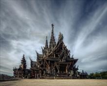 лики храмов №2 / третий вид храма со стороны моря  храм Истины