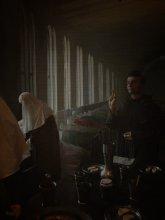 Последнее пристанище... / Это первая работа из небольшой серии о рижском музее медицины.  Восковые фигуры, изображающие сценку в лечебнице с больными чумой, при монастыре, где естественен приход католического священника и сестер милосердия... Обязательно смотрите с музыкой- Lacrimosa -Rekviem-Mozart http://www.youtube.com/watch?v=6_UPjZyxn0Q