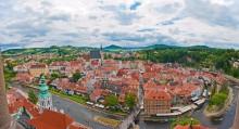 Чешский Крумлов / Панорама из 5 вертикальных кадров