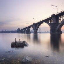 Днепр вечерний / Мерефо-Херсонский мост, Днепропетровск, 2010