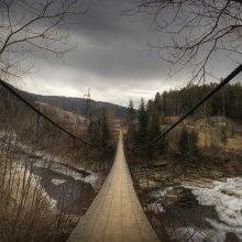 |   Подвесной мост   | / мост над р. Прут