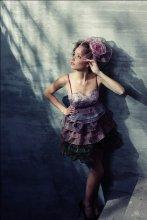 / одежда из коллекции Ольги Радецкой макияж Элина Лев модель Ксюша