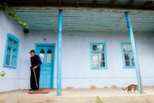 Пранжу Федор / Этот дедушка живет один с 1985 года. В 1985 году умерла его жена.  село Казаклия, 2011