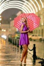 У природы нет плохой погоды / Модель : Юля