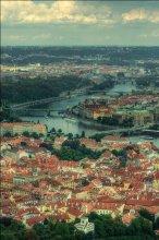 По реке Влтава / Česká republika, Praha