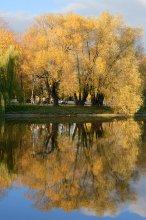 """Осень / """"...Унылая пора! Очей очарованье!  Приятна мне твоя прощальная краса —  Люблю я пышное природы увяданье,  В багрец и в золото одетые леса,  В их сенях ветра шум и свежее дыханье,  И мглой волнистою покрыты небеса,  И редкий солнца луч, и первые морозы,  И отдаленные седой зимы угрозы..."""""""