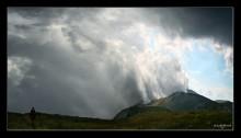 На высоте 1500м / Надвигалась дождевая туча