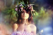 Настя / girl in delicate colors