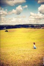 Там, где просторы... / Детство - это когда все огромное и необъятное. Детство - это когда ты знаешь и чувствуешь жизнь.
